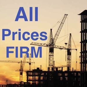 Other - While under construction all prices are firm!
